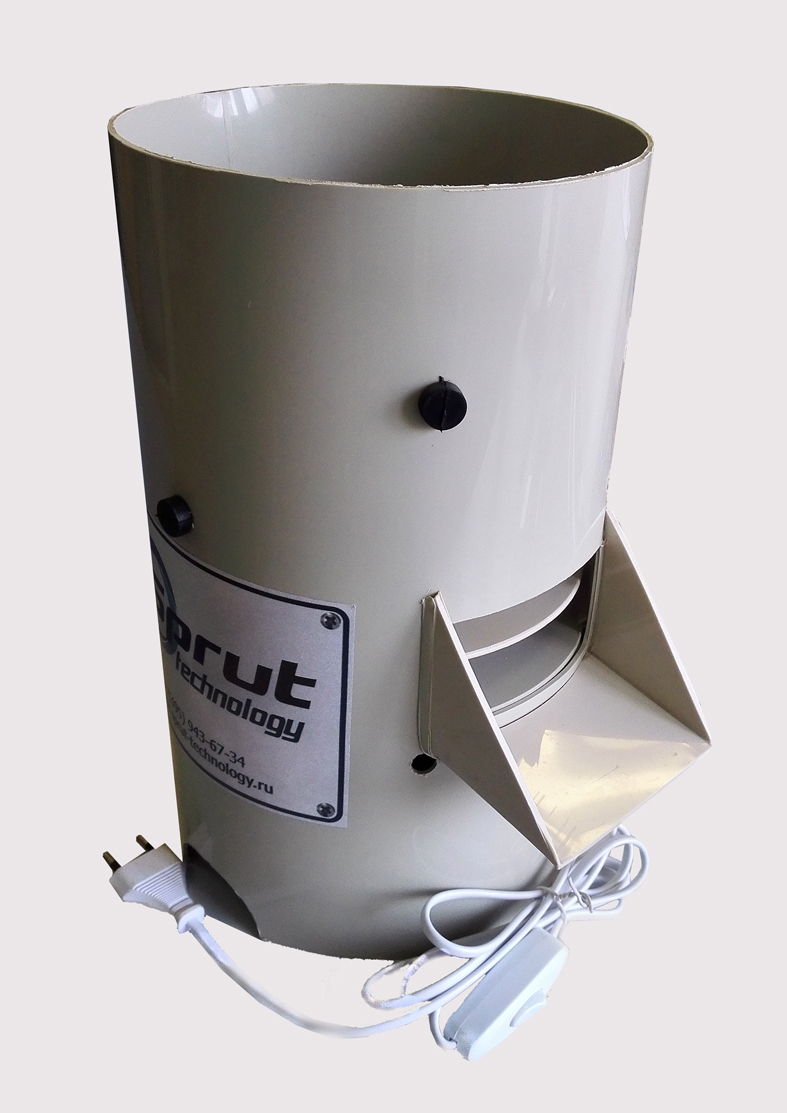 Перосъемная машина для ощипа перепелов ПЛЮКА