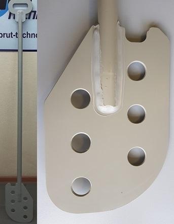 Весло-лопата пластиковое с отверстиями