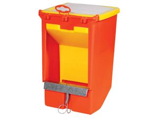 Кормушка бункерная двухсекционная с крышкой и держателем для учетной карточки - описание и характеристики