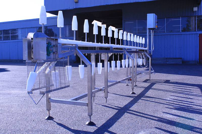 оборудование для переработки тушек