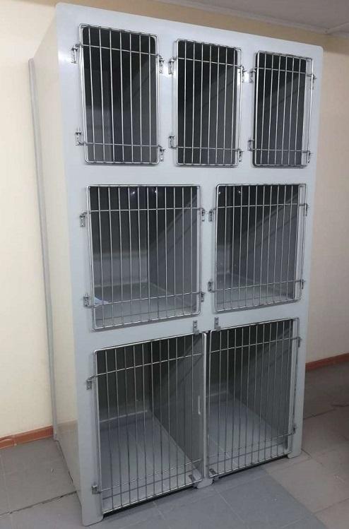Клетки  для ветеринарных клиник и питомников. 13