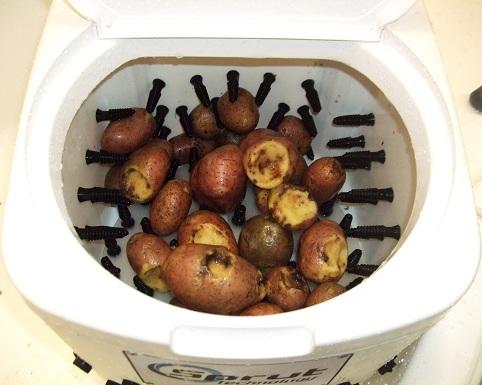 мойка картофеля