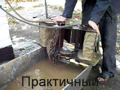 чистка водяных колодцев