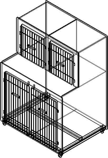 Клетки  для ветеринарных клиник и питомников.