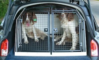 Автобокс  для перевозки собак в автомобиле