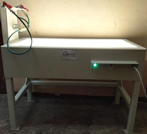 стол с полсветкой для инспекции рыбы
